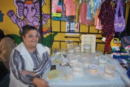 Gastronomía guatemalteca en el Mercado Artesanal (Foto: ESU Mildred Mazariegos)