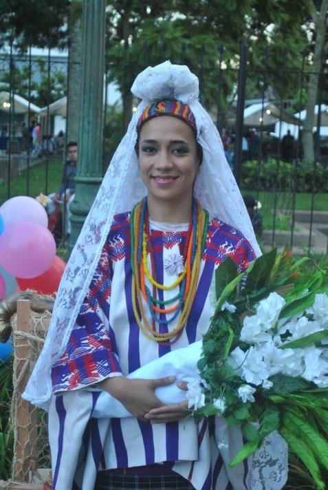 Participante de danza folclórica (Foto: ESU Mildred Mazariegos)
