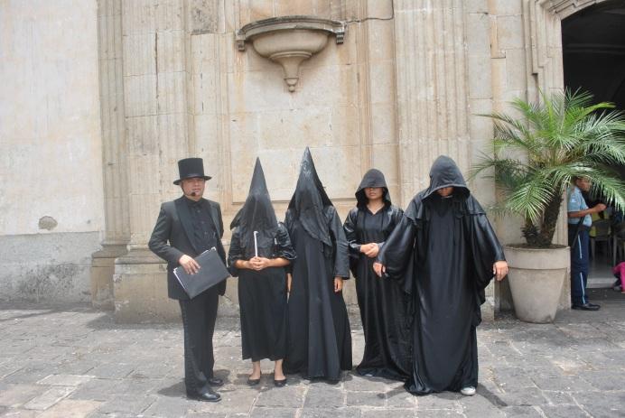 Leyenda los penitentes (Foto: ESU Mildred Mazariegos)
