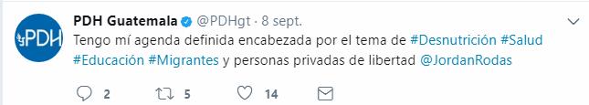 Tweet PDH