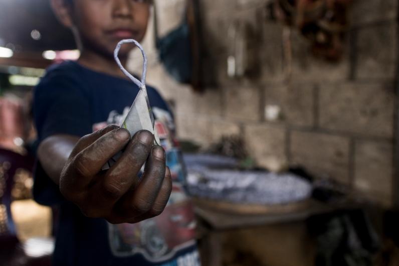 Las bombas que lleva cada ametralladora /Rubén David Lacan