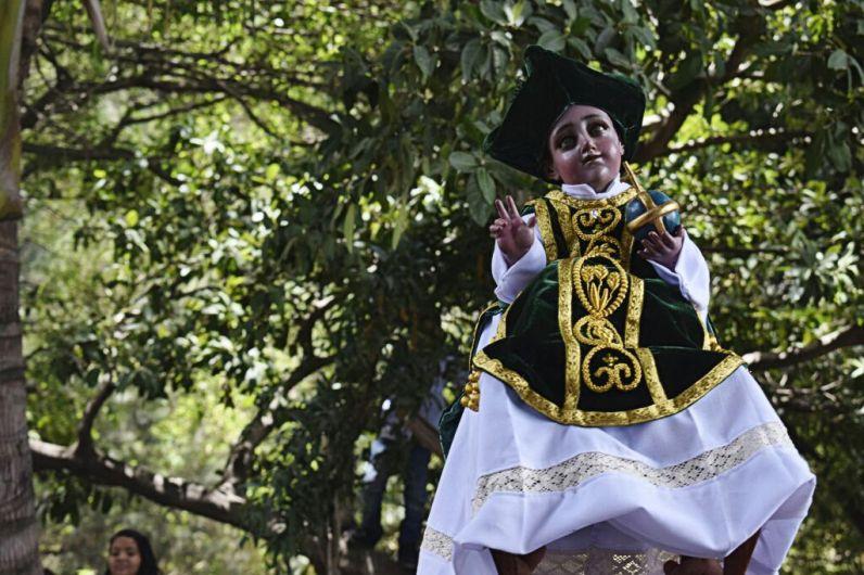 Foto. Niño Dios de Amatitlán, por Jesenia Mejicanos
