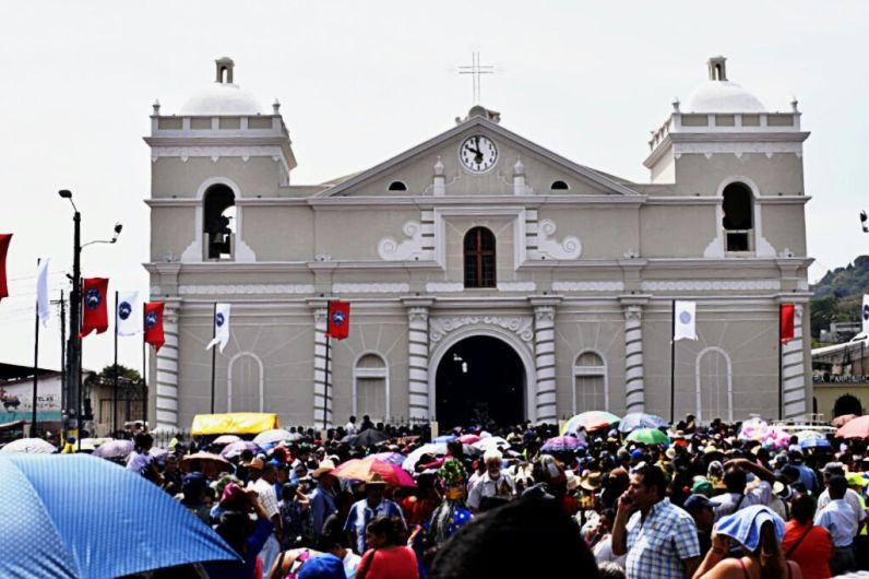 Foto. Iglesia de Amatitlán, Por Jesenia Mejicanos