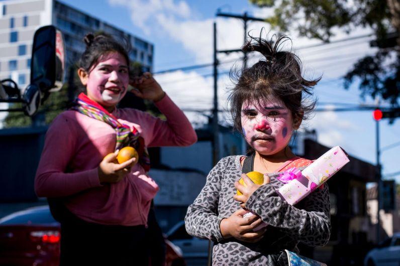 Niñas trabajadoras Foto. Rubén Lacán
