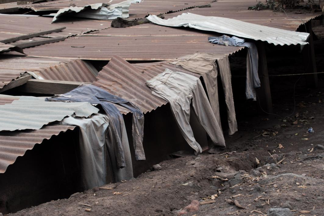 Organización solicita que no exista indiferencia con pobladores de San Miguel los Lotes. Foto: Christian Gutiérrez.