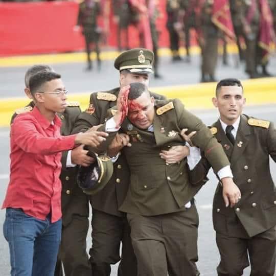 Atentado Nicolás Maduro 04082018 3