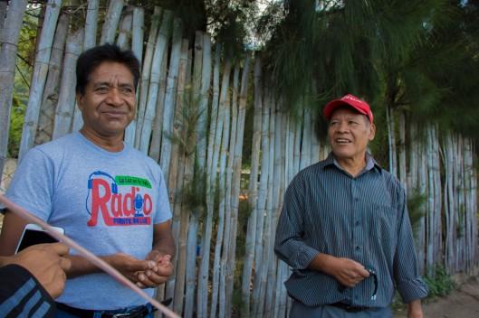 Miguel y Nicolás. Foto por Cristhian Ramirez