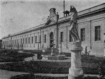 Foto 9 Edificio de la Escuela Facultativa de Medicina y Farmacia del Centro en 1895. Fotografía de El Educacionista.