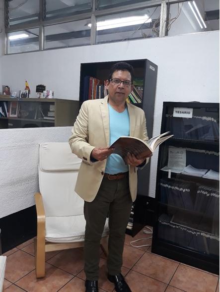 Lic. Elpidio Guillén Docente Escuela de Ciencias de la Comunicación.