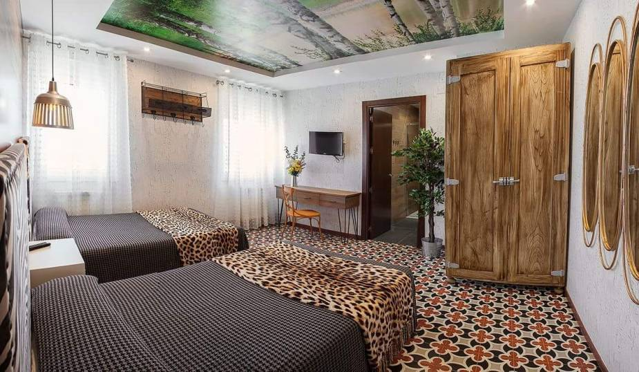 Variedades de servicios ofrecen los pequeños hoteles en Guatemala..jpg