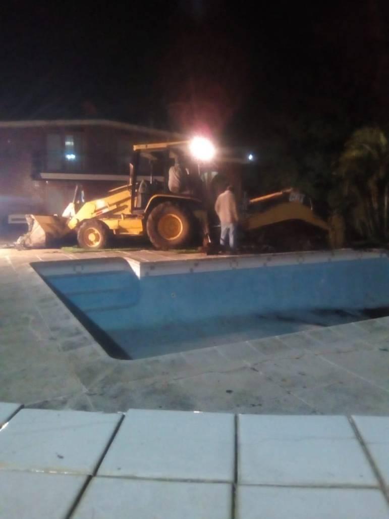 Tunel en allanamiento en Santa Elena Barillas Villa Canales 0610208 3