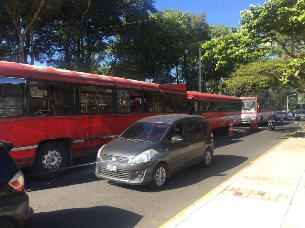 buses estacionados 1