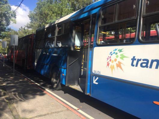buses estacionados 2