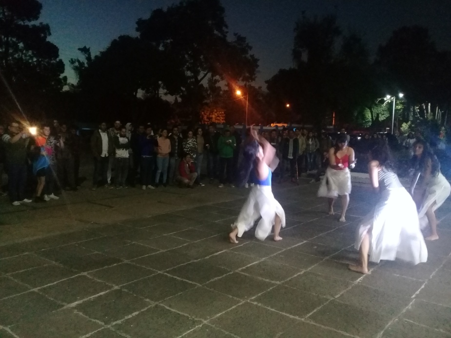 Danza Los cuatros Elemntos de la tierra