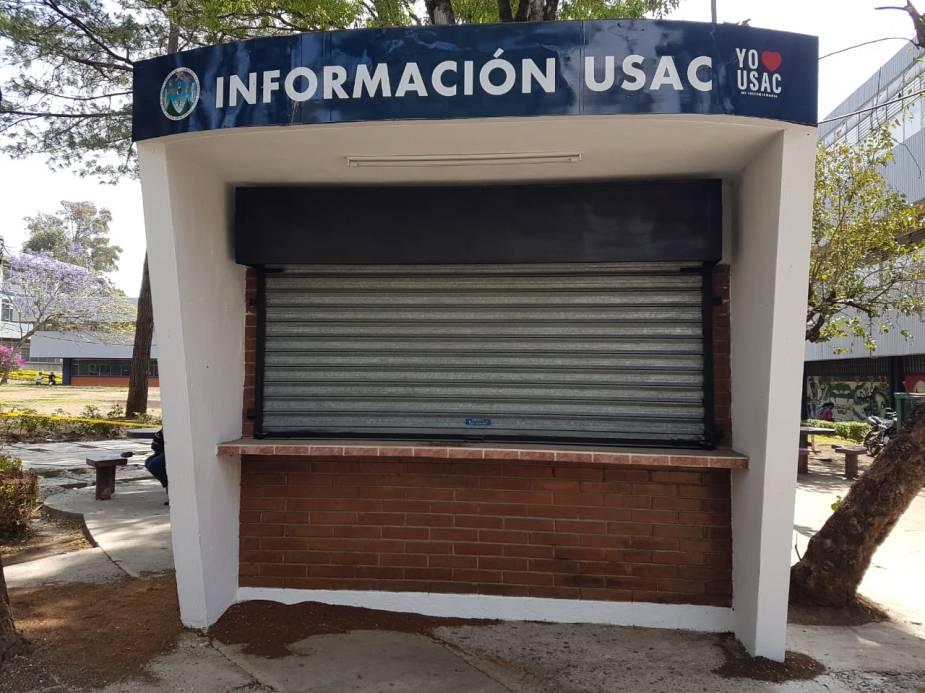 Kiosko información usac