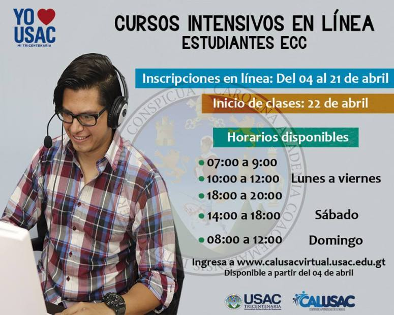 Cursos USAC