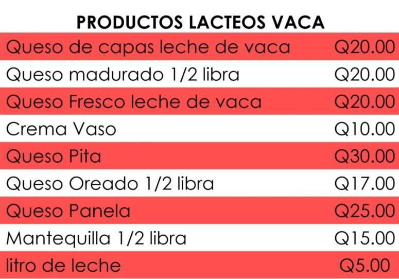 precios vaca