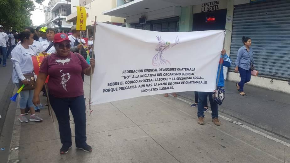 Mujeres manifestación