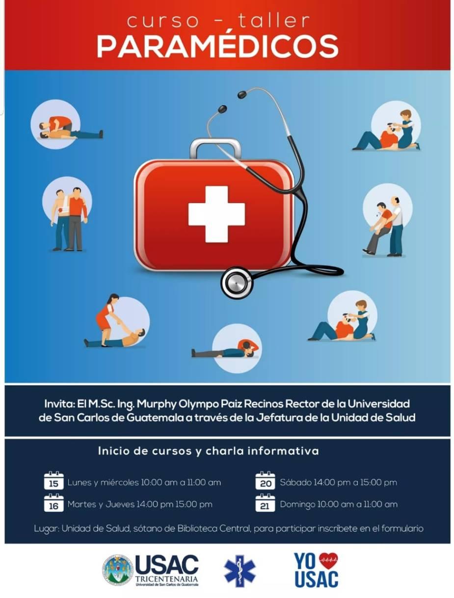 curso paramedicos