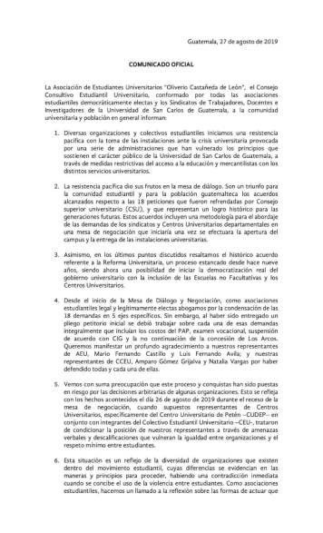 Comunicado AEU (1)